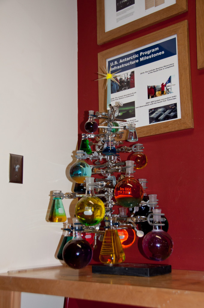 The chemis-tree; another US Antarctic Program infrastructure milestone.