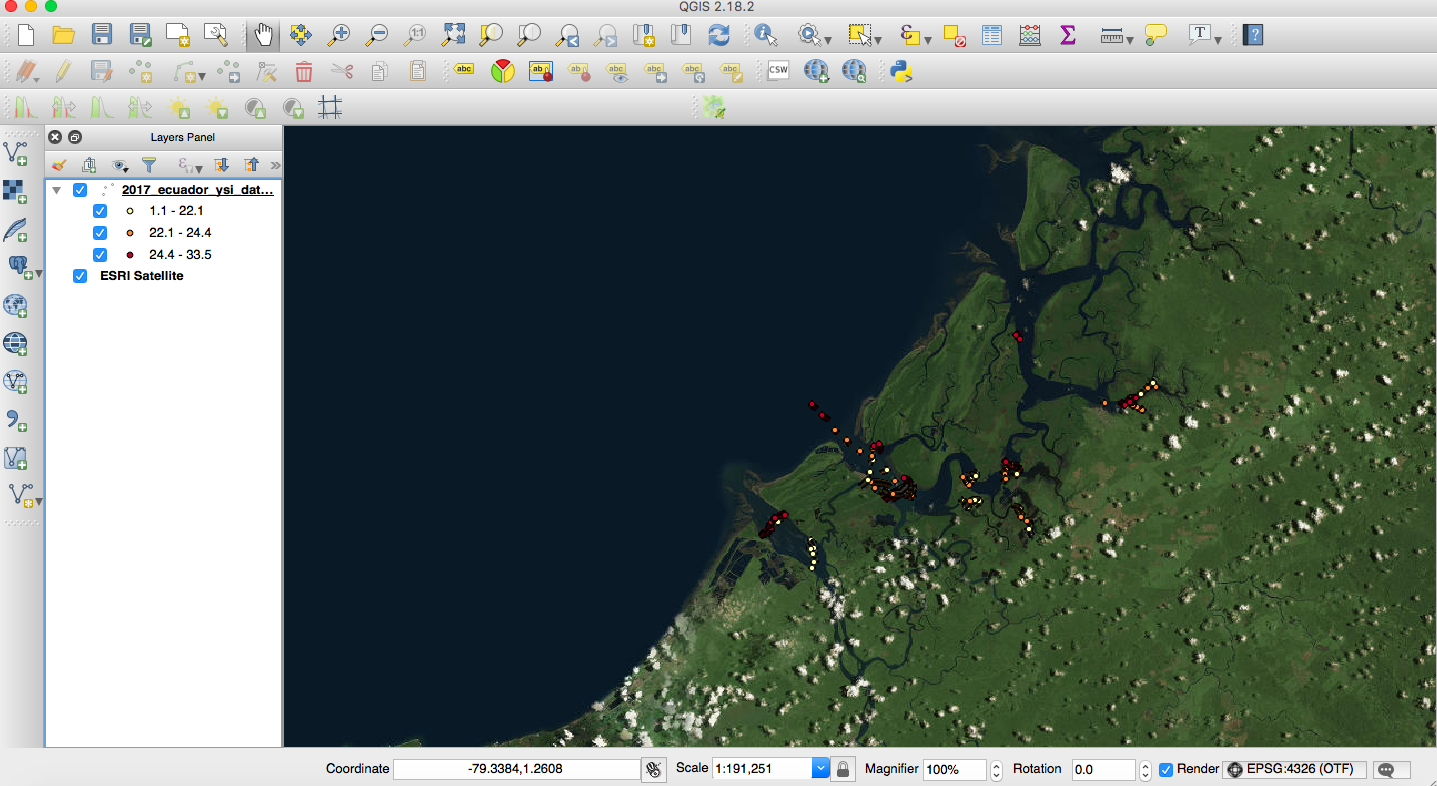 Tutorial: How to make a map using QGIS   The Bowman Lab