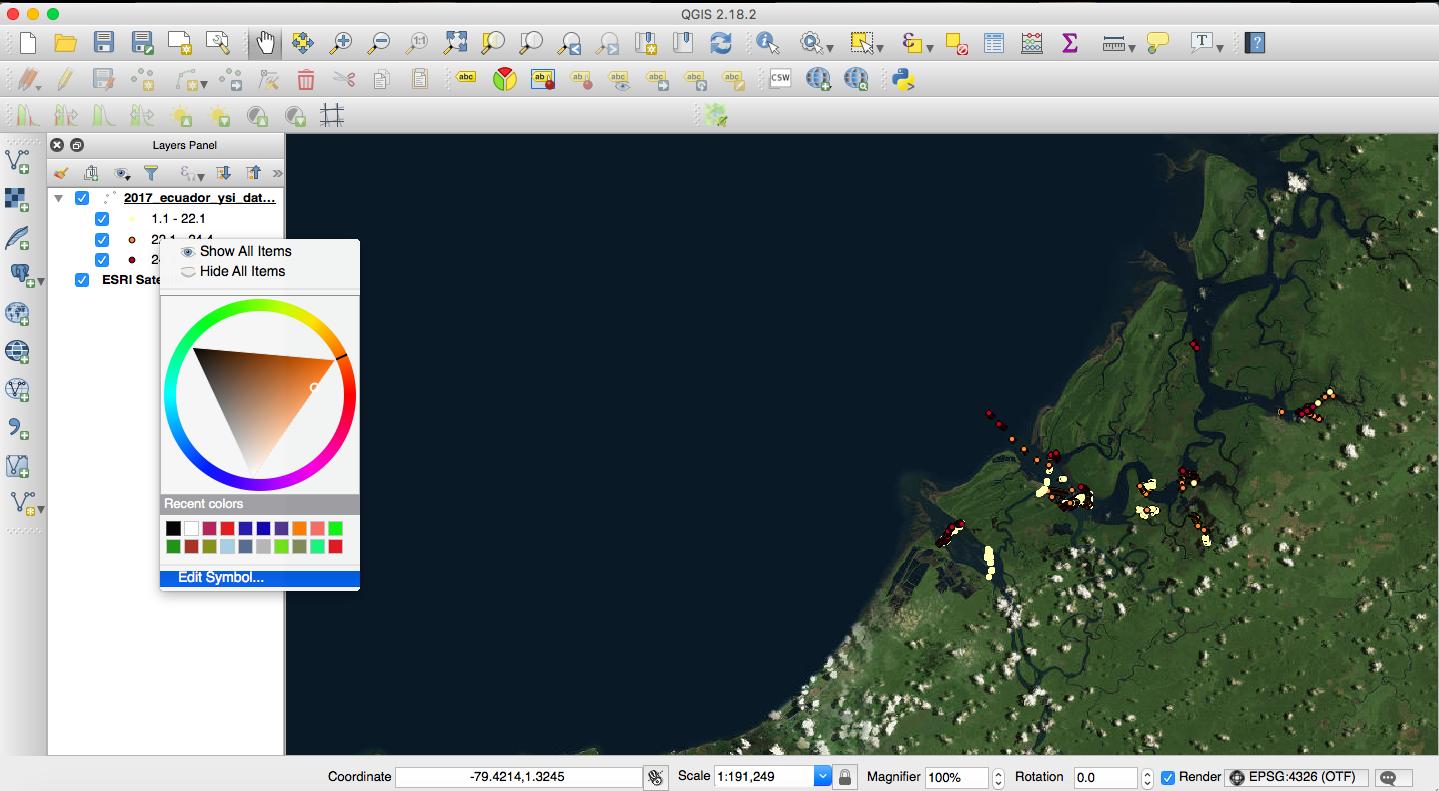 Tutorial: How to make a map using QGIS | The Bowman Lab