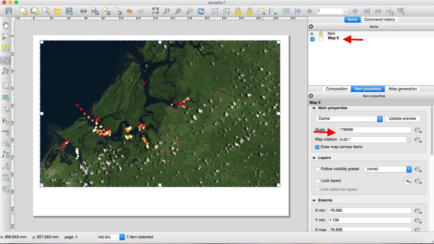 Tutorial: How to make a map using QGIS | The Bowman Lab on